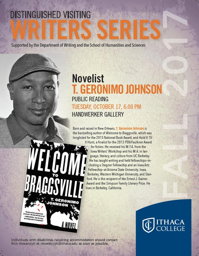 Distinguished Writer. T.G. Johnson