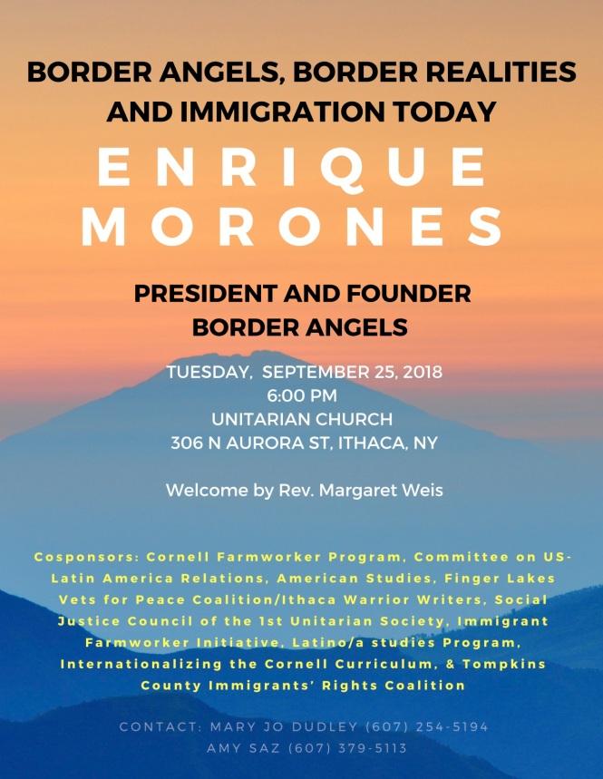 Enrique Morones Sept 25, 2018