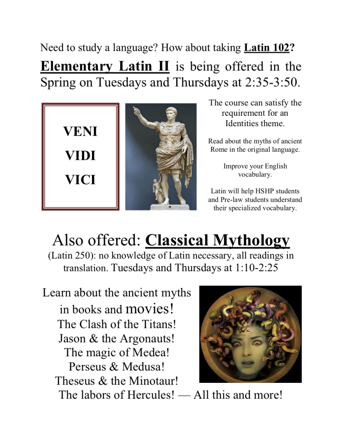 Latin & Myth poster for spr 2018 Identities.png