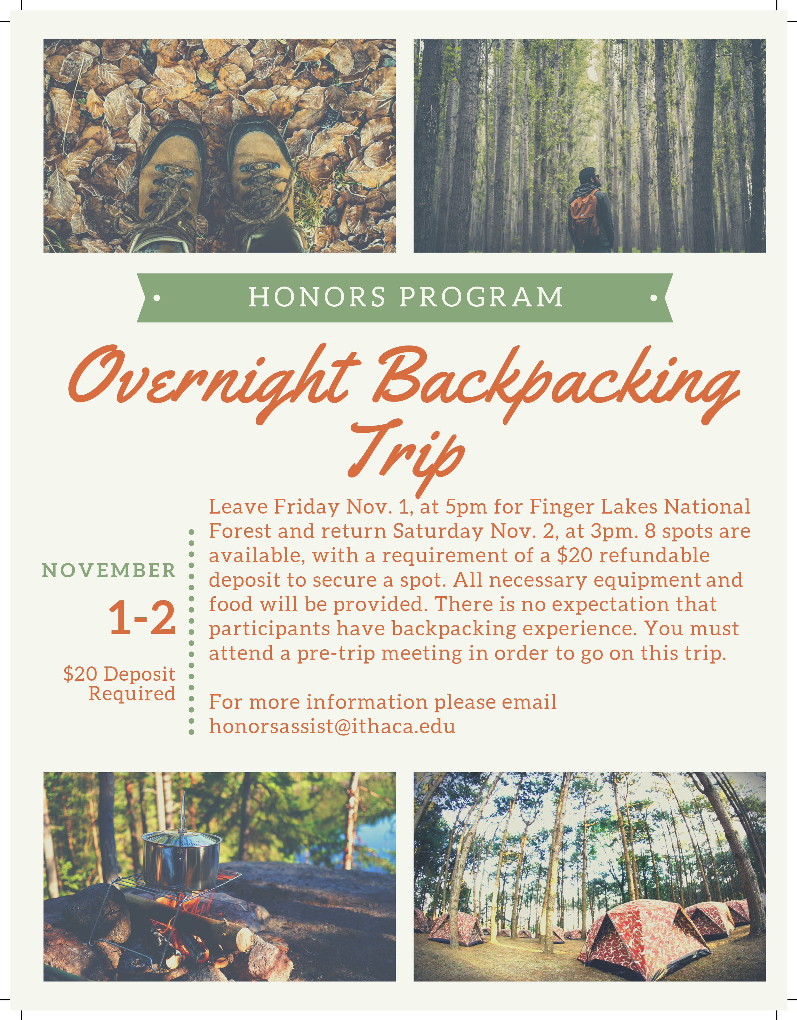 Overnight Backpacking Trip